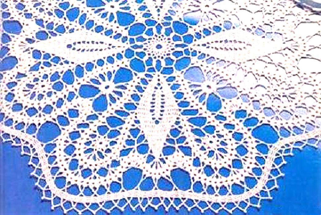 Брюггскими кружевами вязание