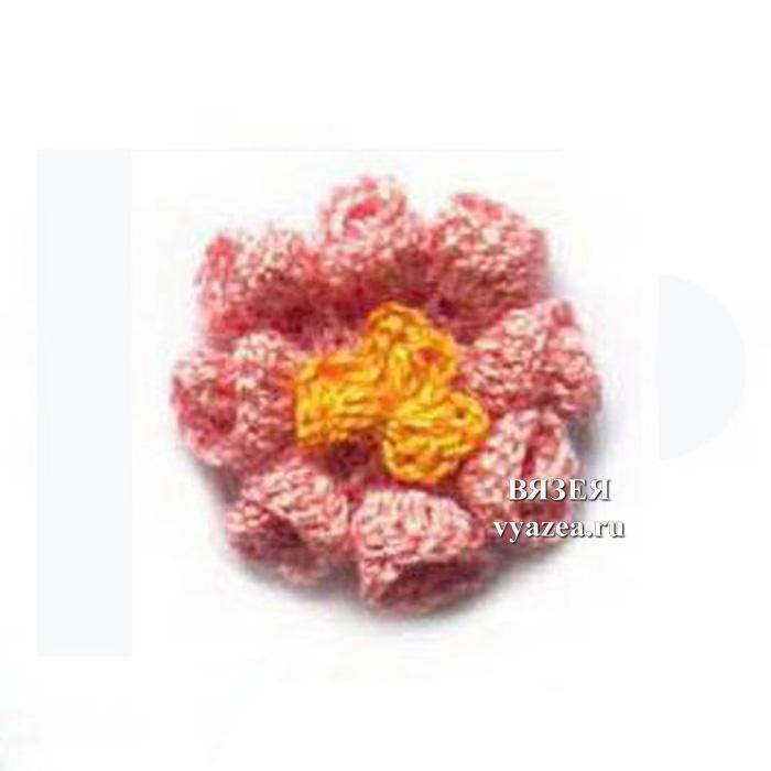 Цветы связанные крючком