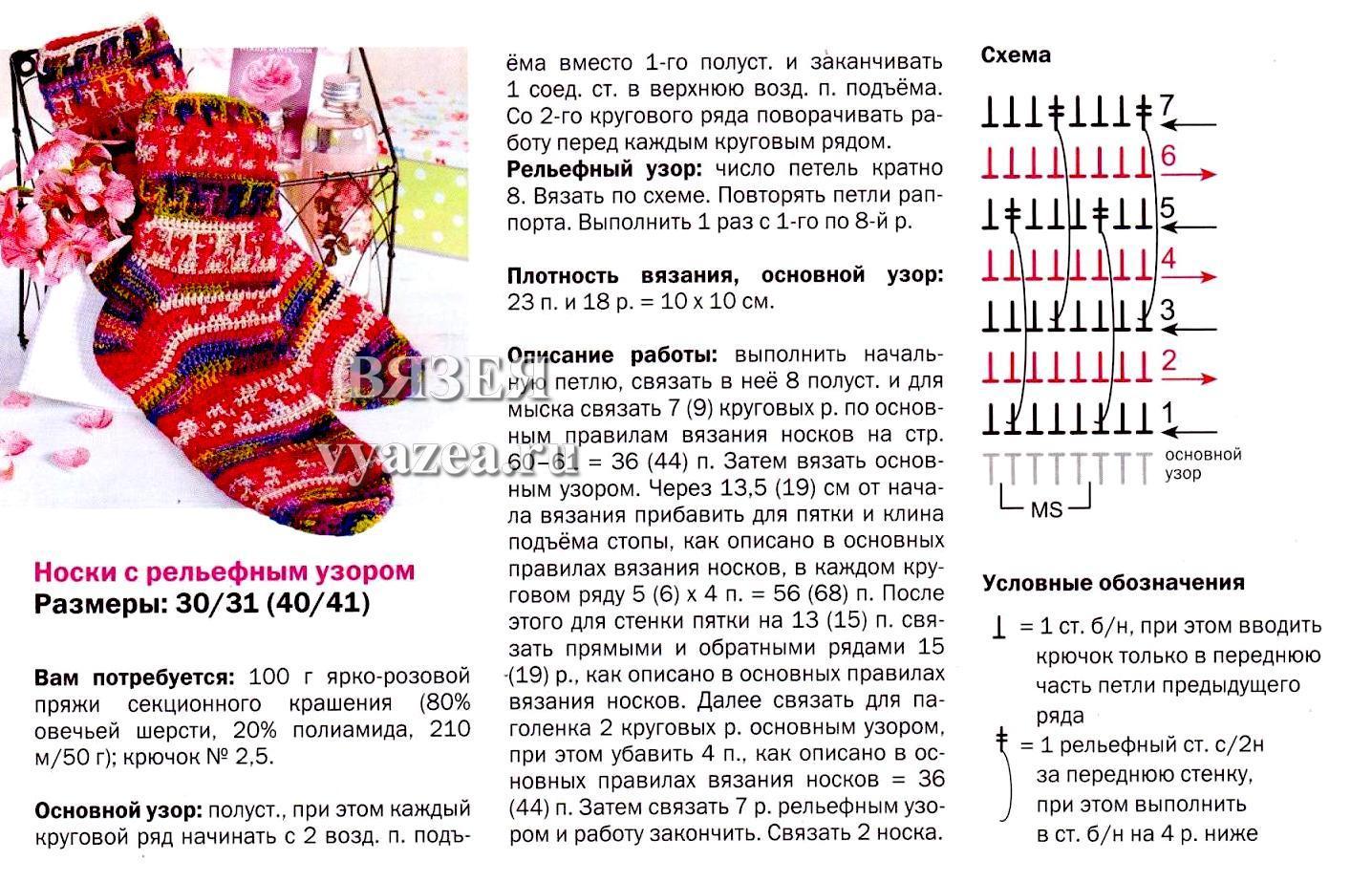 Схема вязания крючком детских носочков для начинающих 82