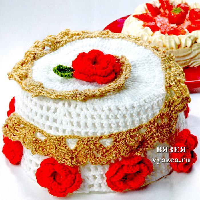Торт крючком