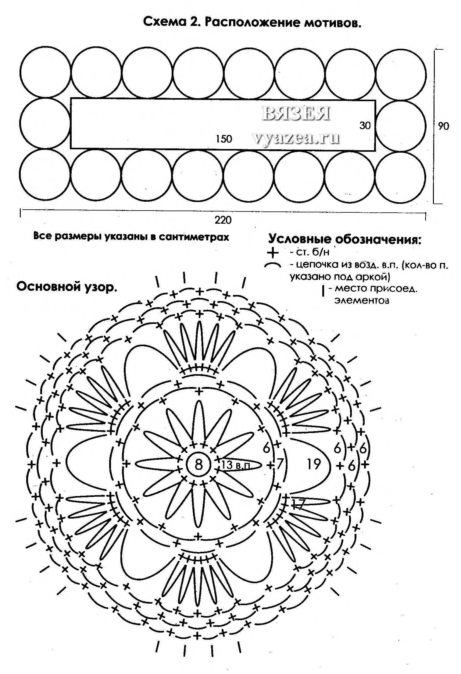 вязание на вилке схемы и описание