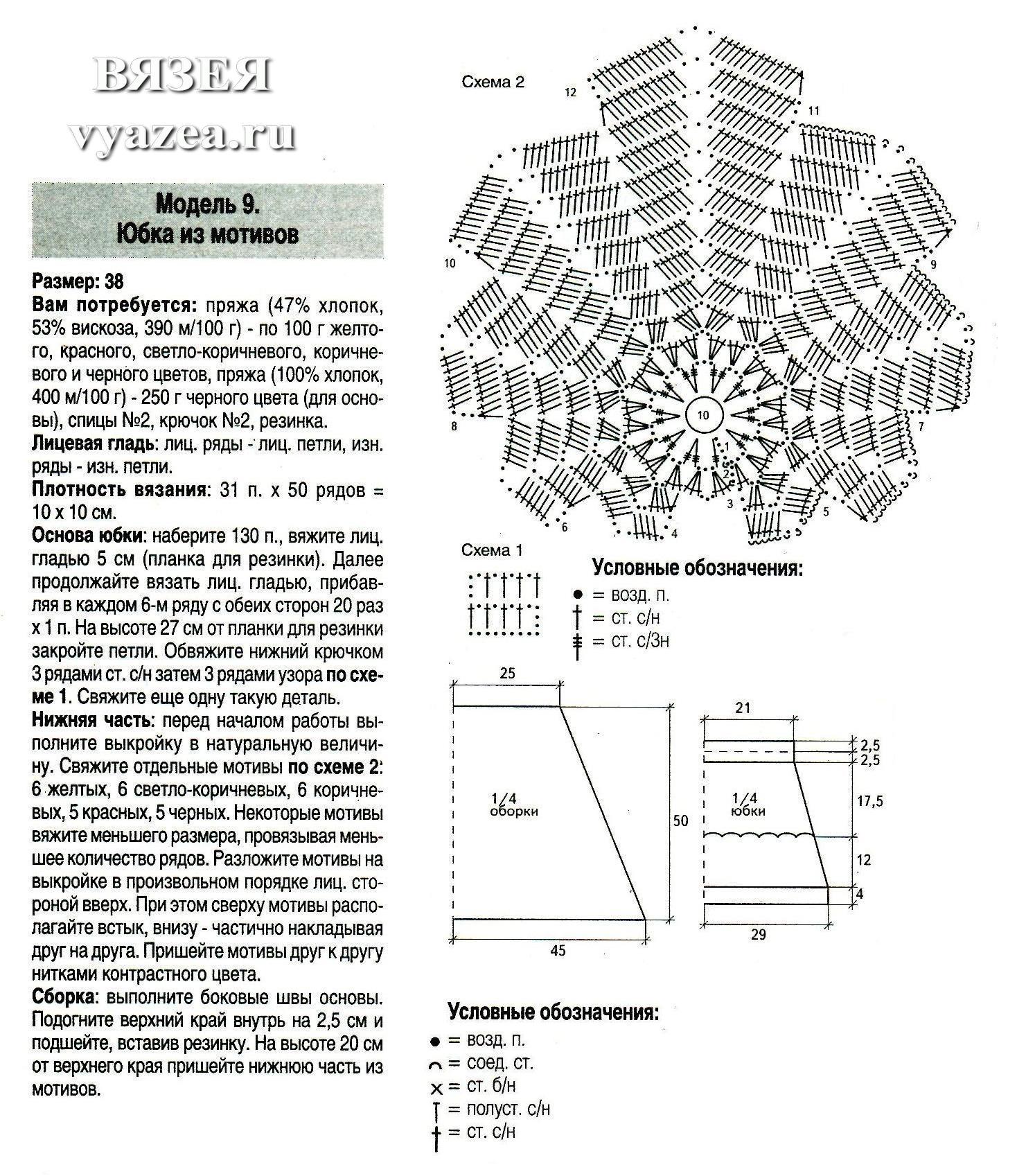 Схемы вязания купальников крючком с описанием 2018 12