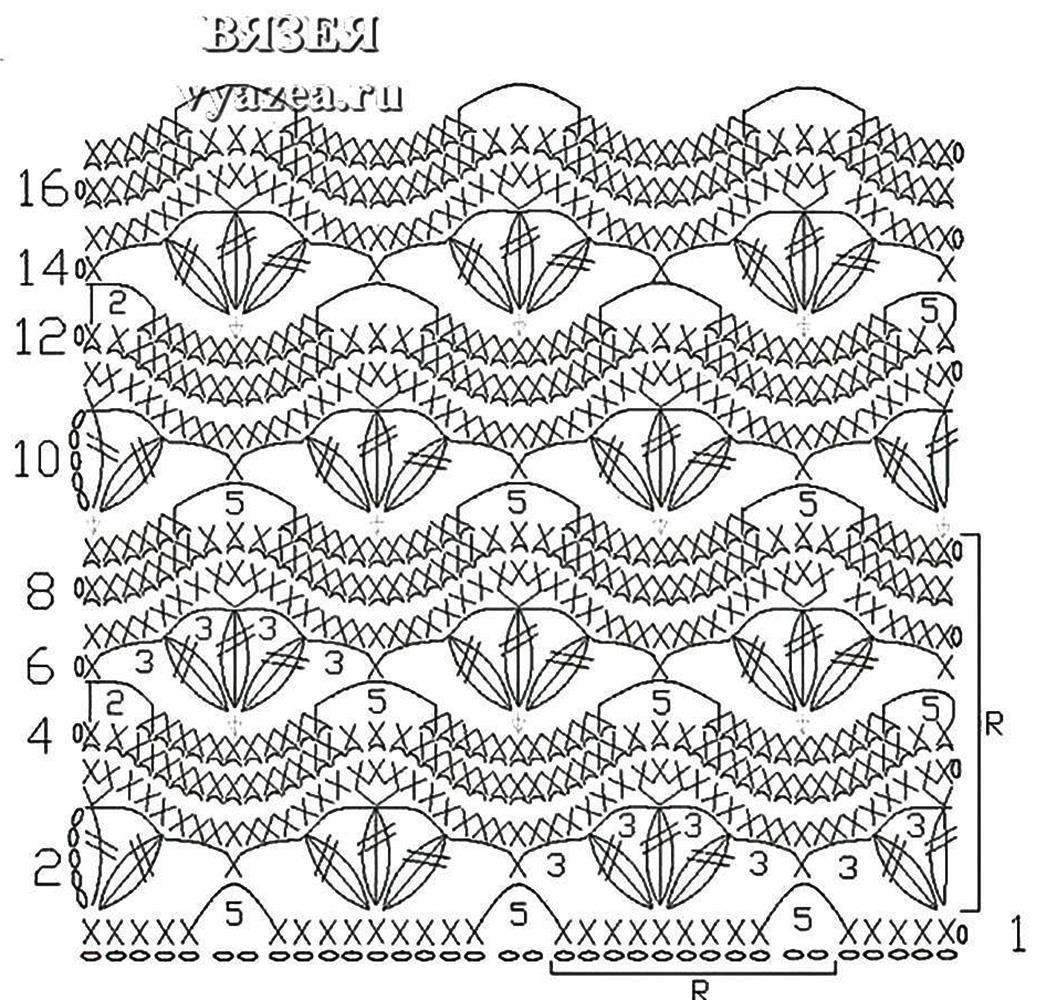 Схемы крючком печатать