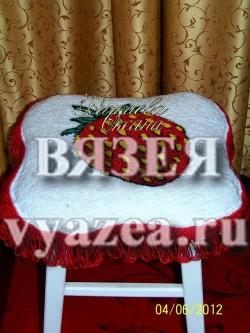 Чехлы на табурет ковровая вышивка