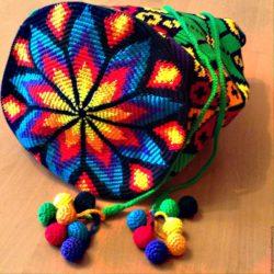 Жаккардовое вязание крючком