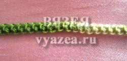 Шнур Гусеничка крючком (жемчужный шнур)