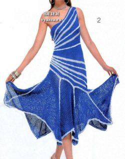 Платье сарафан крючком для женщин