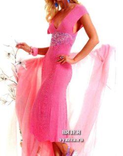Нежное платье крючком